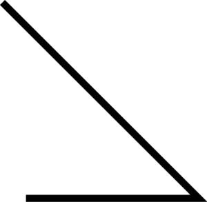 Metallkantung spitzer Winkel